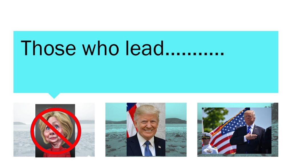 There Are Those Who Lead and Those Who Follow…What's the Difference?