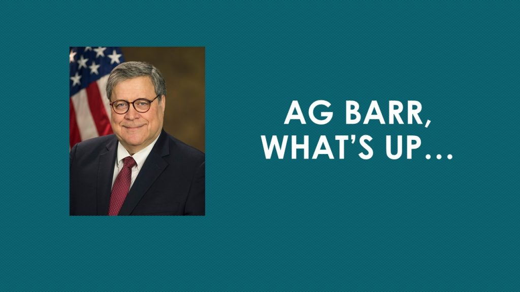 AG BARR, WHAT'S UP…