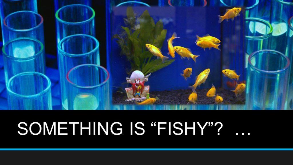 """SOMETHING IS """"FISHY""""?  …"""